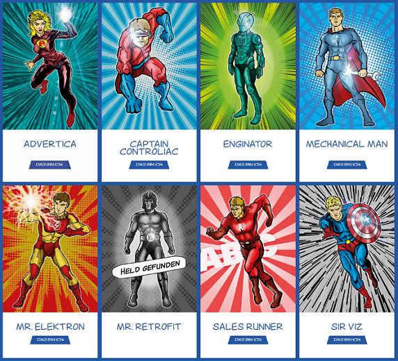 Albrecht Bäumer Superhelden-Personalmarketing-Kampagne