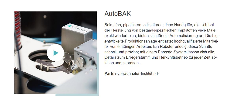 RIPAC-Labor Forschung AutoBAK